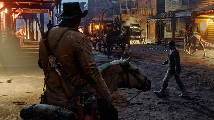 игры 2018 года Red Dead Redemption 2