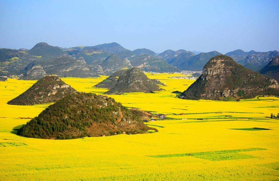 природа восхитительно красочна Китай