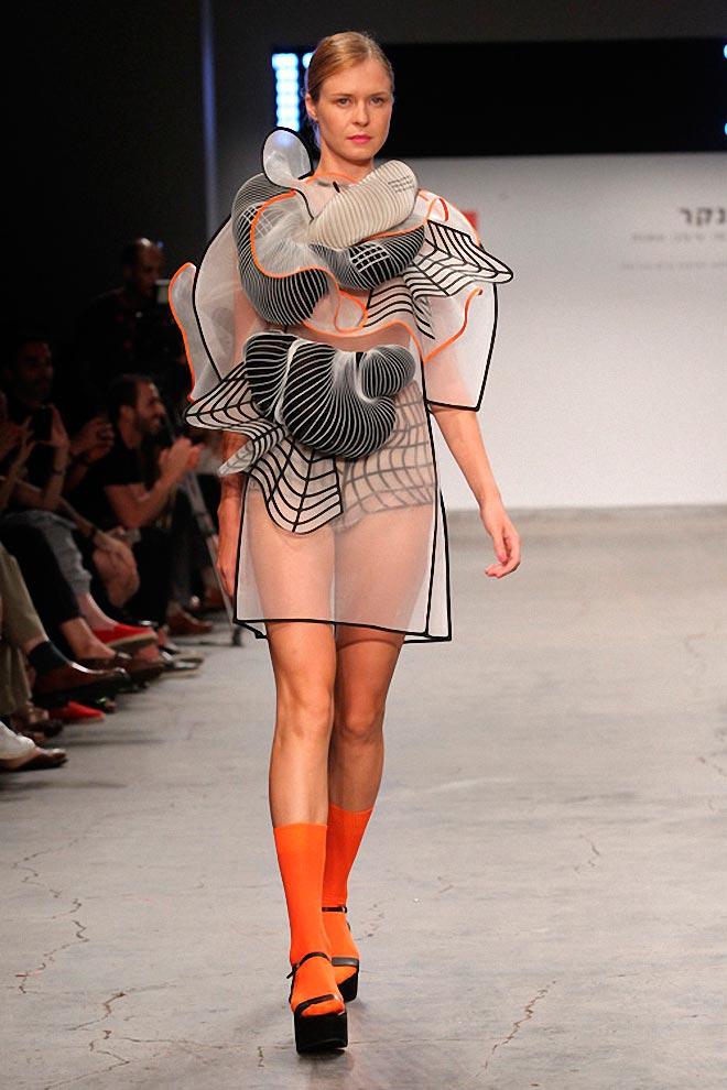 Ноа Равив платья напечатанные 3D-принтером Noa Raviv dresses printed 3d-printer