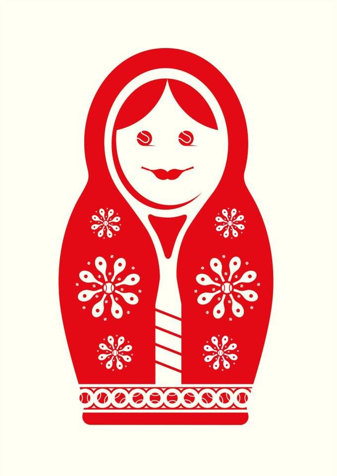Нома Бар Noma Bar иллюстрации с двойным смыслом Российские теннисисты