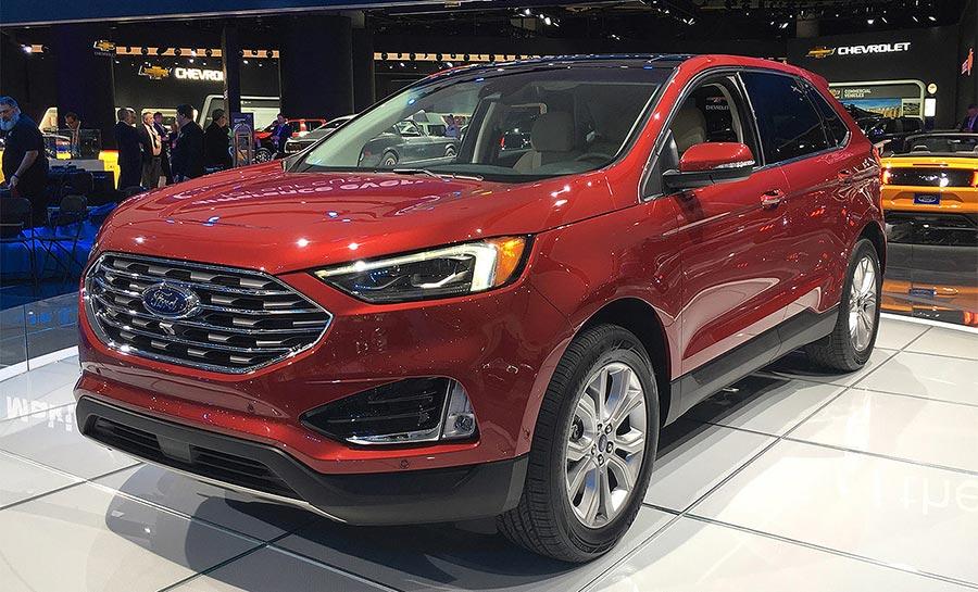 Детройт-2018 Ford Edge