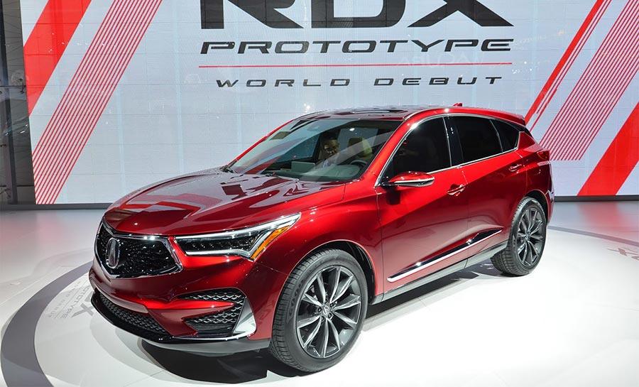 Детройт-2018 Acura RDX Prototype