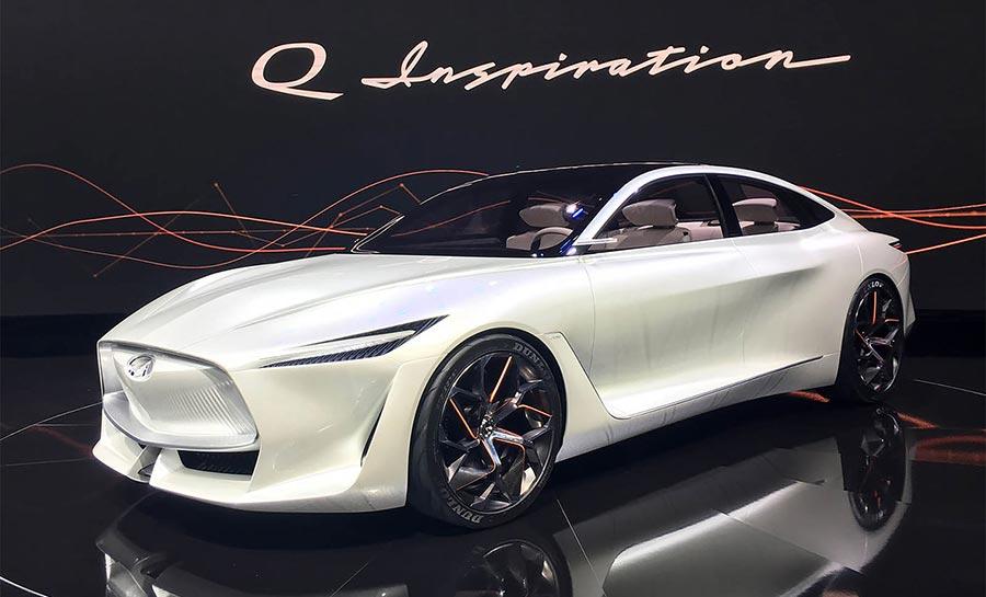 Детройт-2018 Infiniti Q Inspiration Concept
