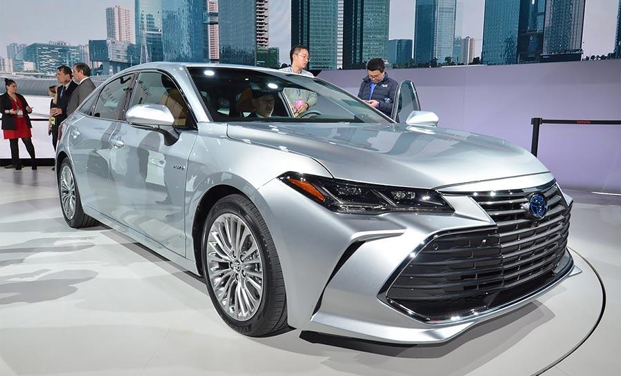 Детройт-2018 Toyota Avalon