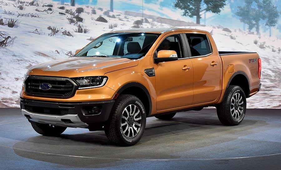 Детройт-2018 Ford Ranger