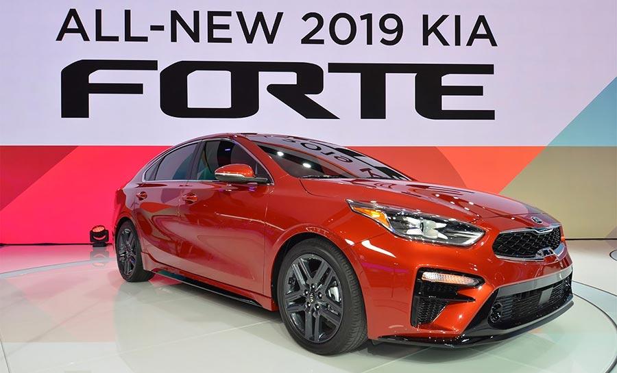 Детройт-2018 Kia Forte