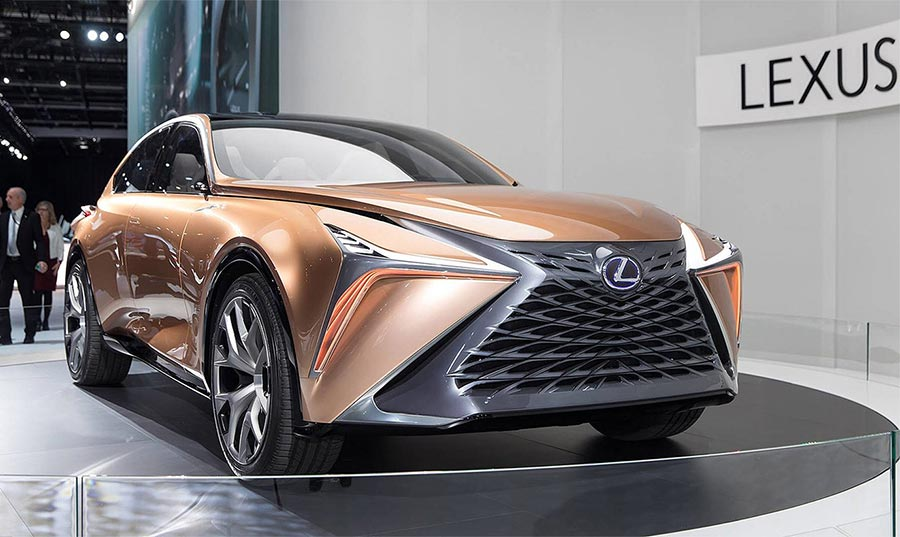 Детройт-2018 Lexus LF-1 Limitless Concept