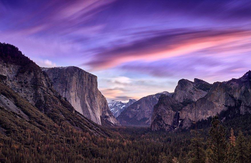 фотограф Пол Райффер 3D-пейзажи photographer Paul Reiffer 3D-landscapes Йосемитский национальный парк Калифорния США