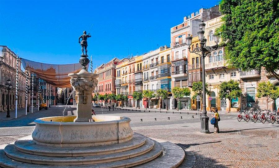 места где хорошее вино Севилья Испания Sevilla Spain