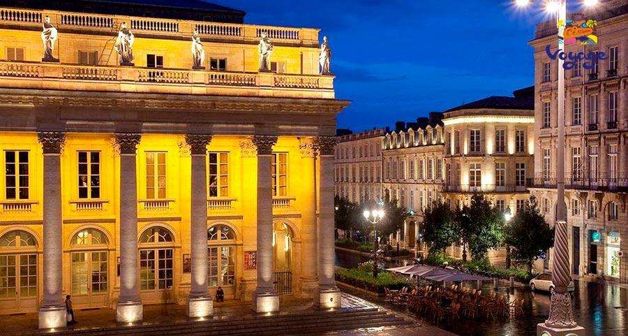 места где хорошее вино Бордо Франция Bordeaux France