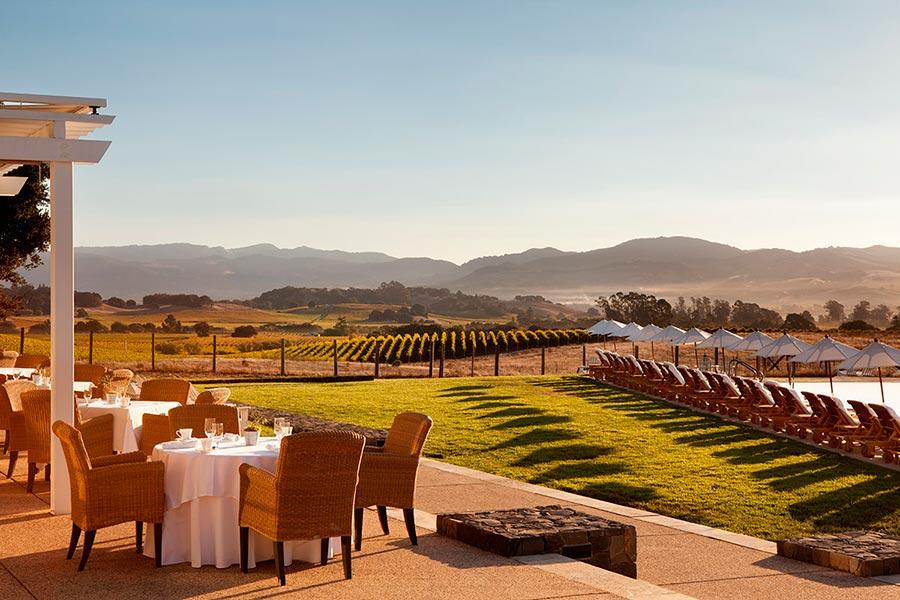 места где хорошее вино долина Напа Калифорния США Nappa valley CA USA