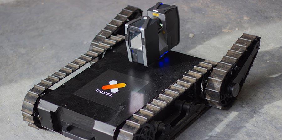 Doxel Робот с лидаром укажет на промахи строителей