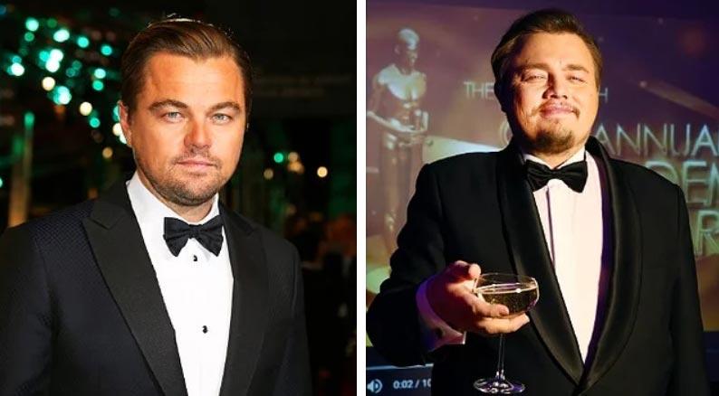 российские двойники звезд Голливуда Леонардо Ди Каприо Роман Бурцев