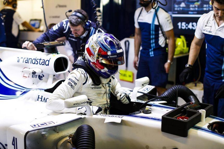 Сергей Сироткин Формула-1 Williams
