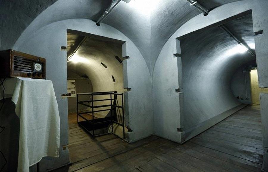 секретное убежище Бенито Муссолини