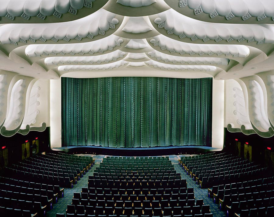 фото-проект Стефан Заубитцер: исчезающие кинотеатры мира Индия