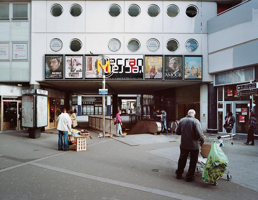 фото-проект Стефан Заубитцер: исчезающие кинотеатры мира Франция
