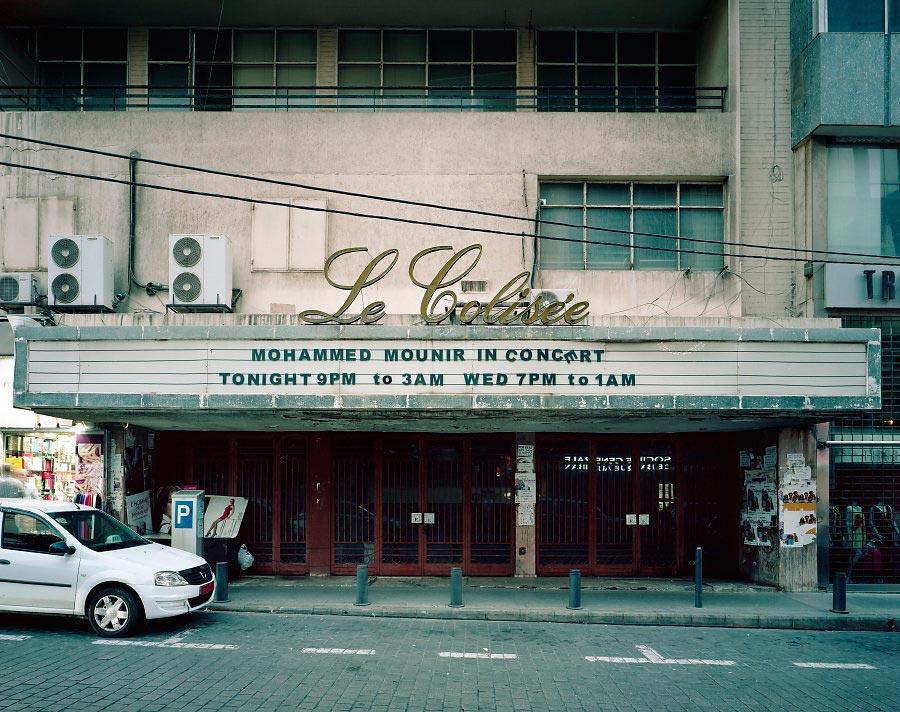 фото-проект Стефан Заубитцер: исчезающие кинотеатры мира Ливан