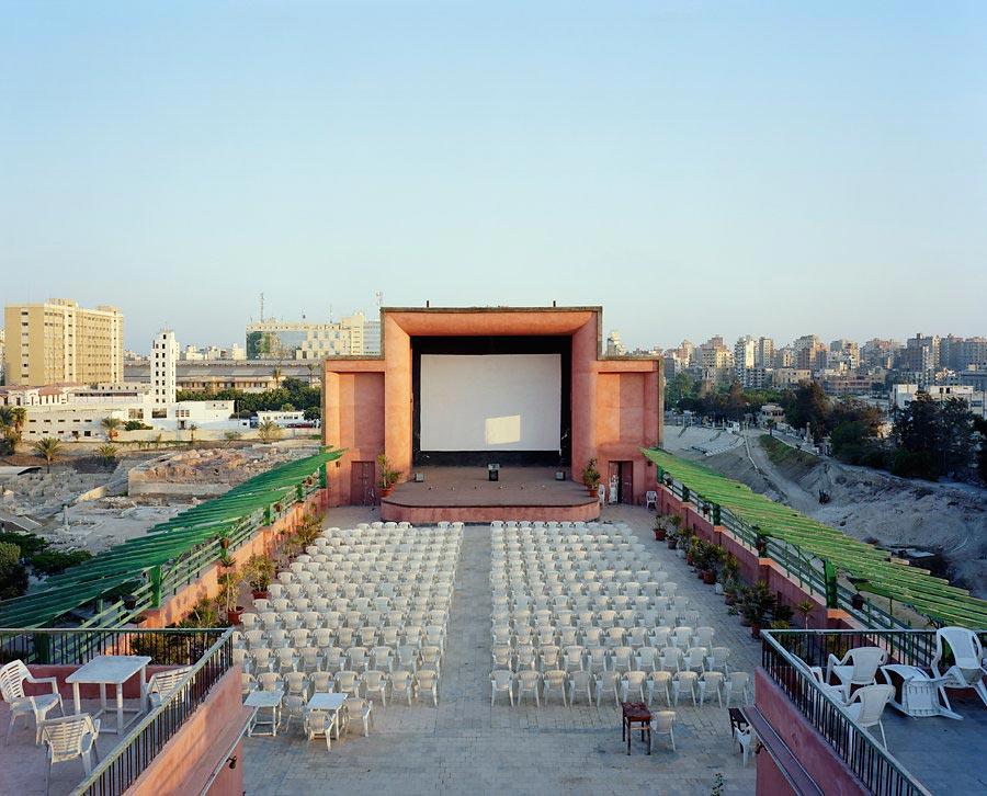 фото-проект Стефан Заубитцер: исчезающие кинотеатры мира Египет