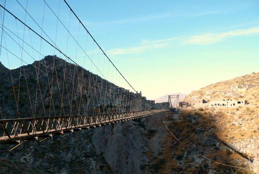 страшные мосты в мире Мост Пуэнте-де-Охуэла Мексика Mexico