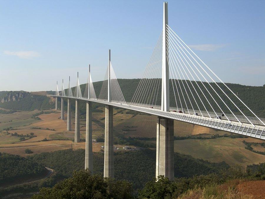 страшные мосты в мире Виадук Мийо Франция France