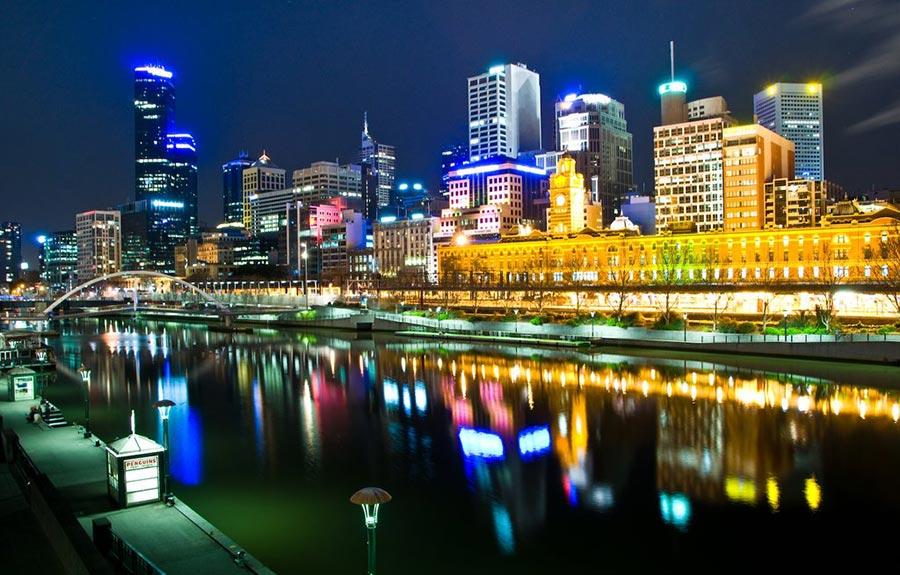 теплые места Мельбурн Виктория Австралия