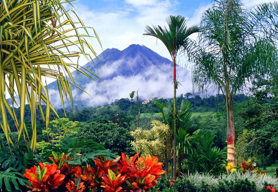 теплые места Гуанакасте Коста-Рика