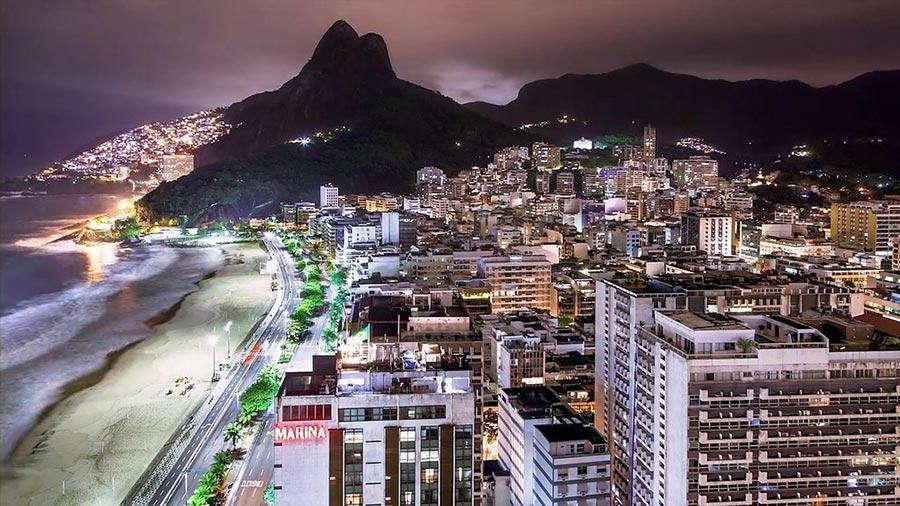 теплые места Рио-де-Жанейро Бразилия