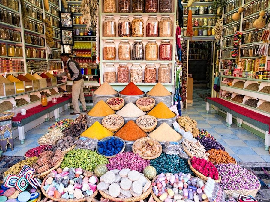 теплые места Марракеш Марокко