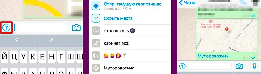 опции WhatsApp
