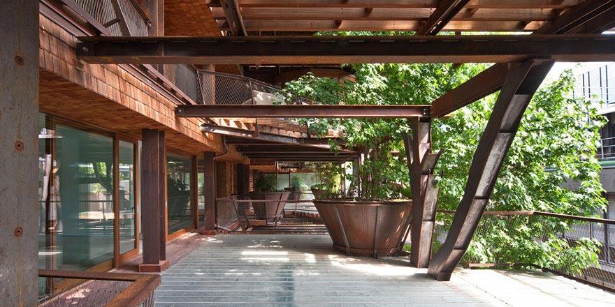 Urban Treehouse — уголок природы в городе