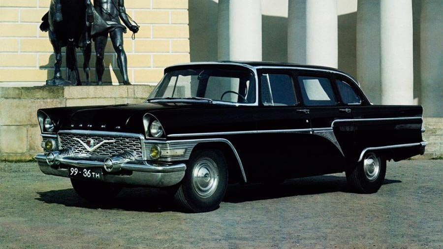 Сделано в СССР 8-цилиндровые автомобили ГАЗ-13