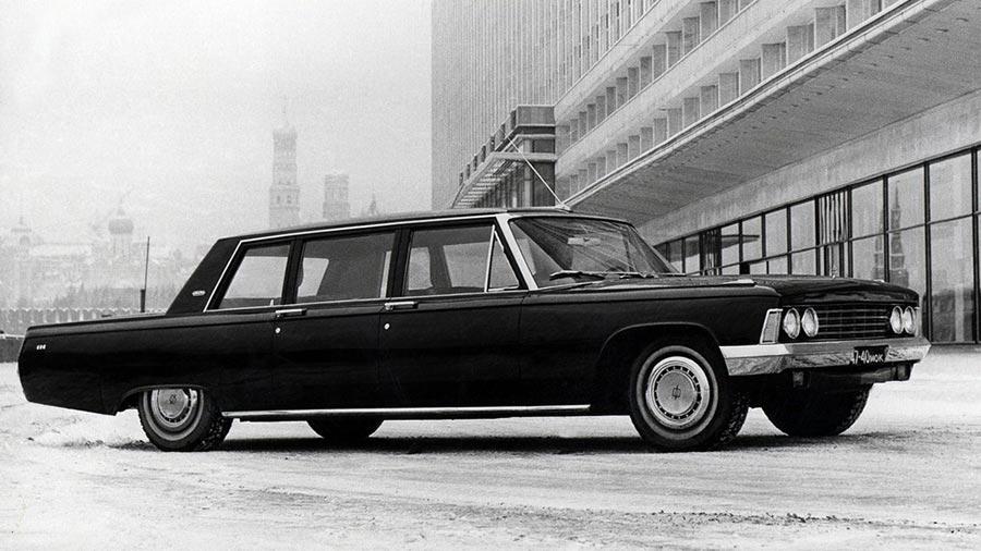 Сделано в СССР 8-цилиндровые автомобили ЗИЛ-114