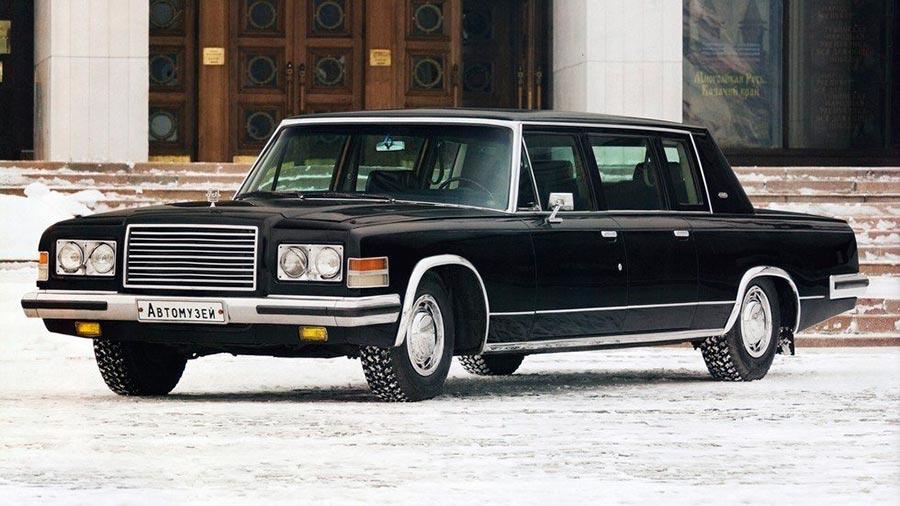 Сделано в СССР 8-цилиндровые автомобили ЗИЛ-4104
