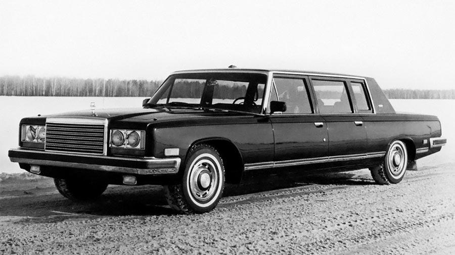 Сделано в СССР 8-цилиндровые автомобили ЗИЛ-41045