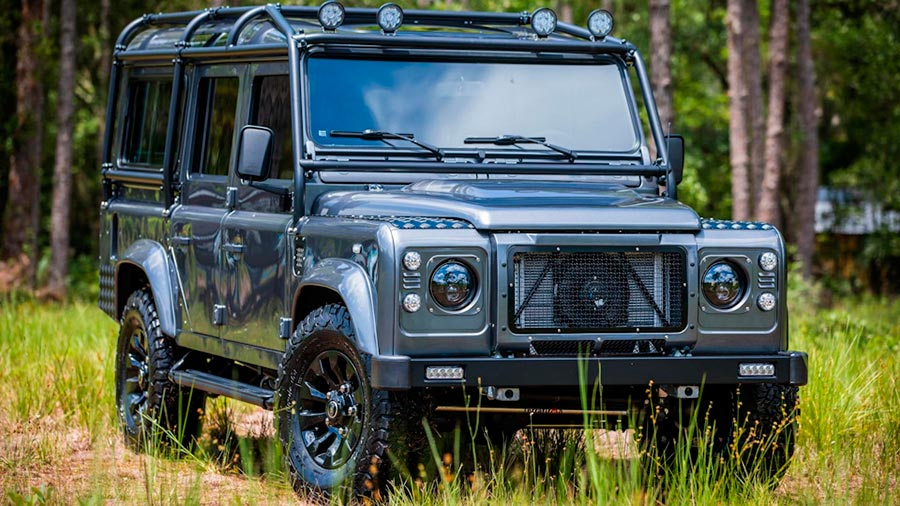 V8 для Land Rover Defender 110