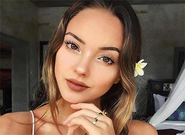 Начинающая актриса и модель Екатерина Бережная