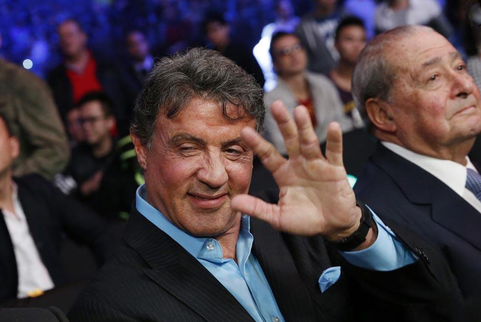 известные личности левши Сильвестр Сталлоне