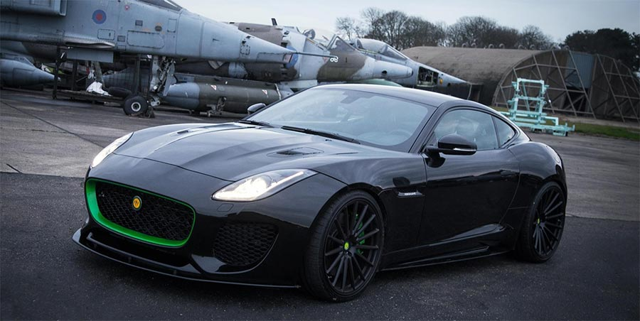 Jaguar F-Type тюнинг от Lister Motor Company