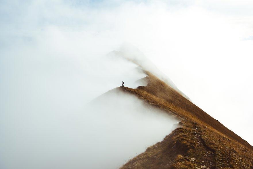 Йохан Лолос пейзажи Европы Гора Аугстматтхорн Швейцария