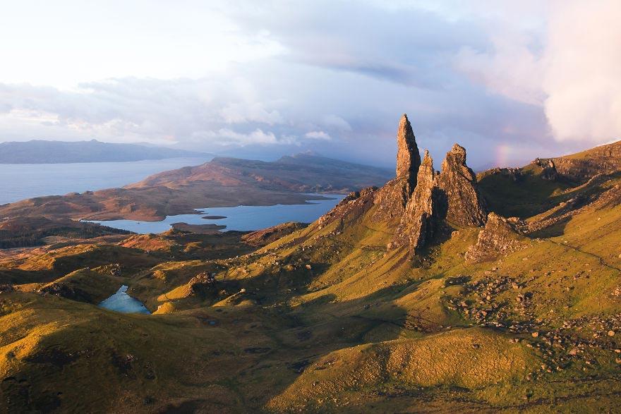 Йохан Лолос пейзажи Европы Холм Сторр на острове Скай Шотландия