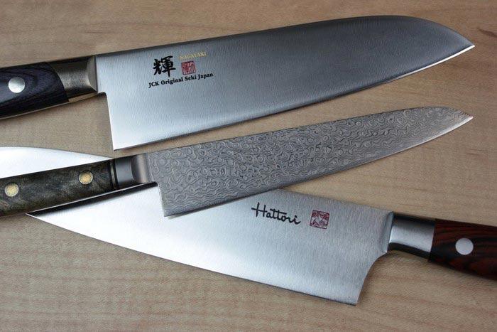 избавиться от ржавчины на ножах