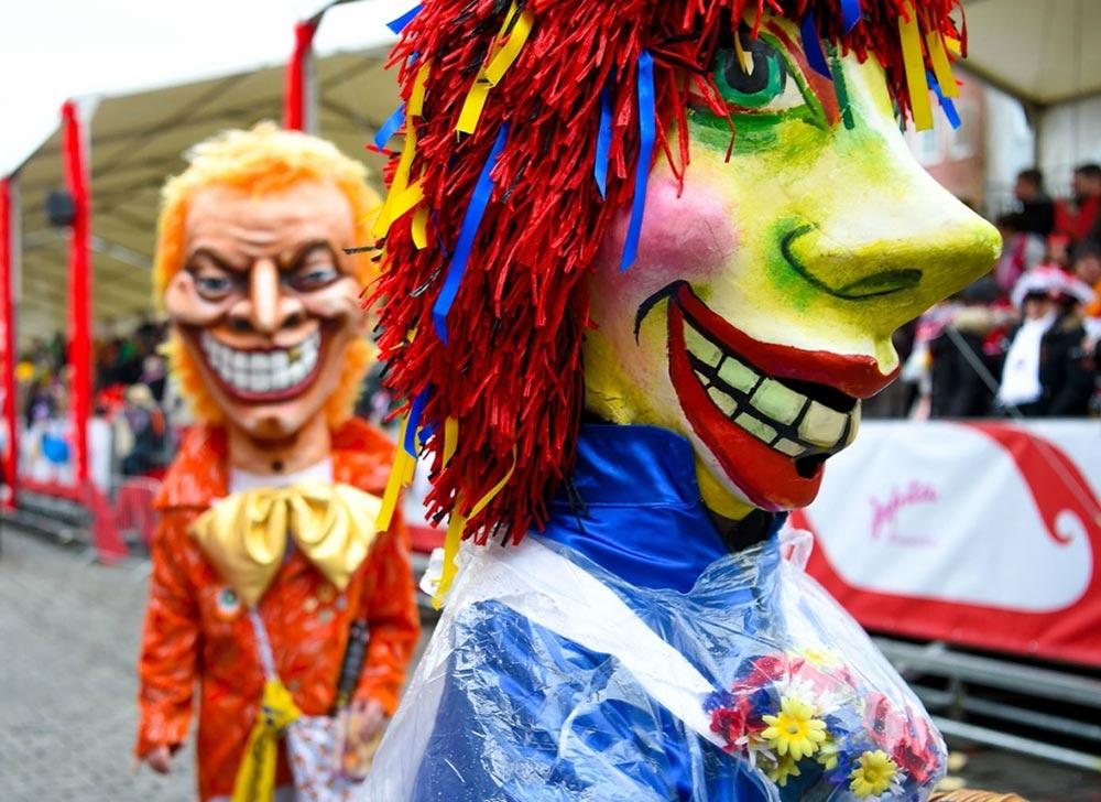 Карнавал парад Schuul en Viedelzuch Кельн Германия