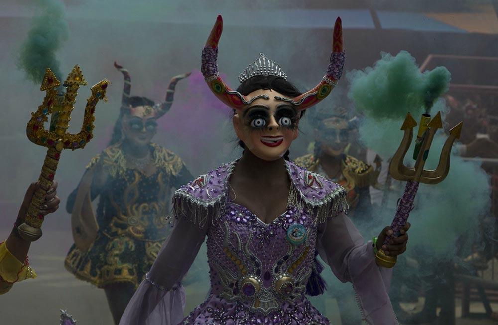 Diablada танец дьявола карнавал Оруро Боливия