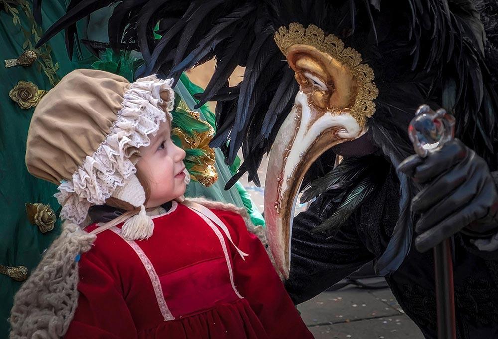 карнавал площадь Сан-Марко Венеция Италия