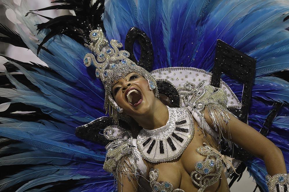 Vai-Vai Samba карнавал Сан — Паулу Бразилия