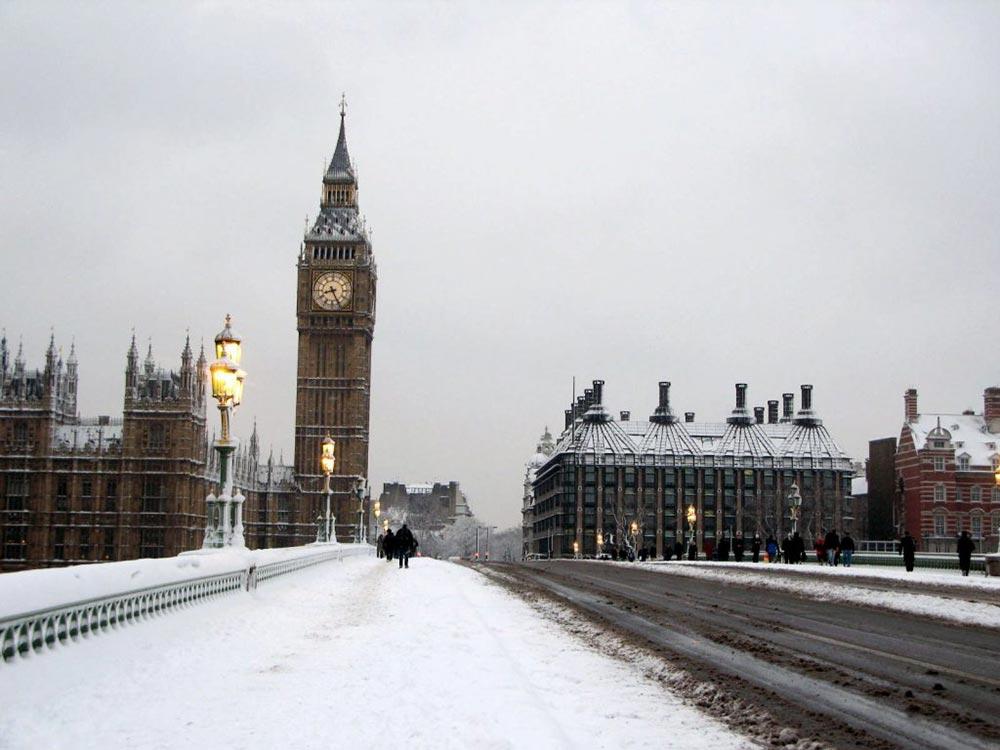 страны без центрального отопления Великобритания
