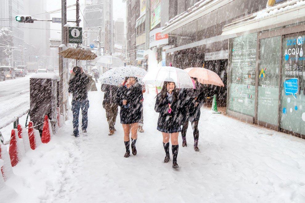 страны без центрального отопления Япония