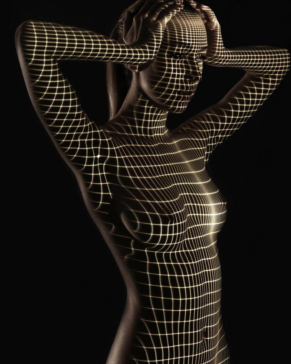 Дани Оливье Dani Olivier чувственный свет геометрические проекции