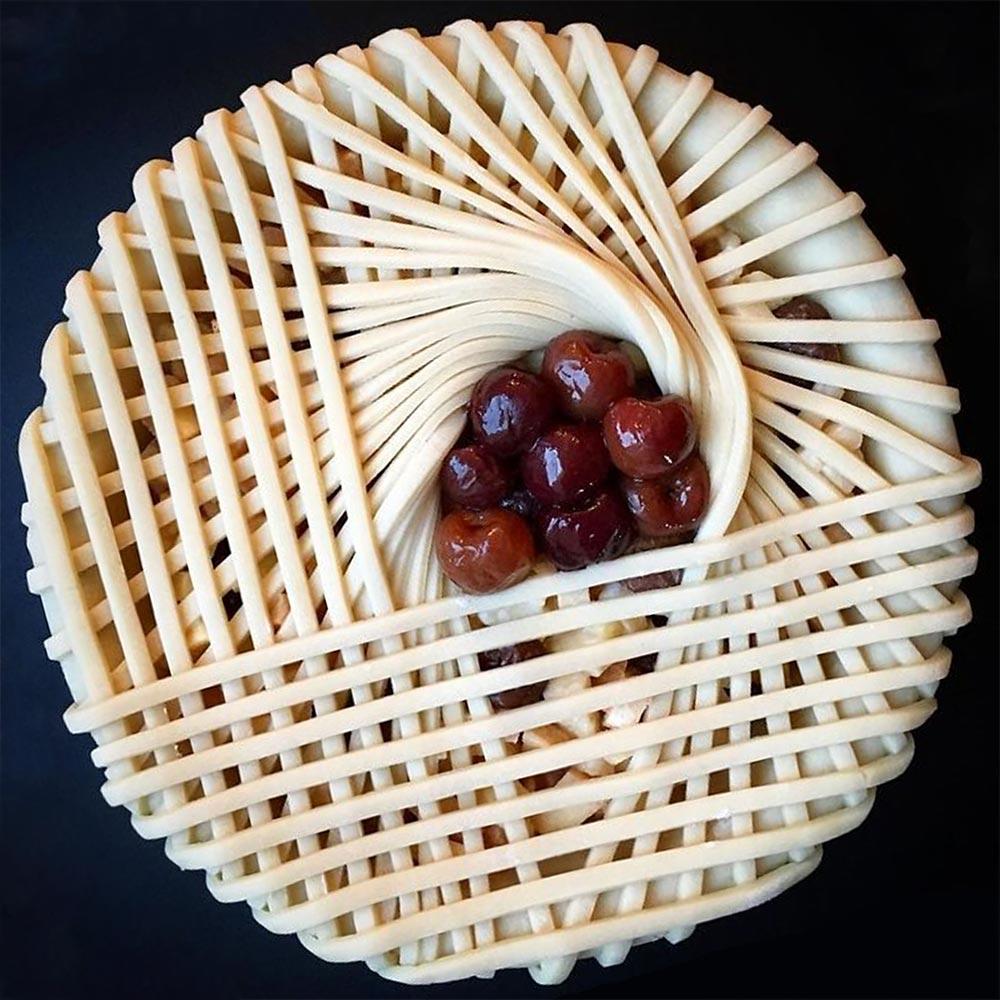 Лорен Ко Lauren Ko Кулинарный арт креативные пироги